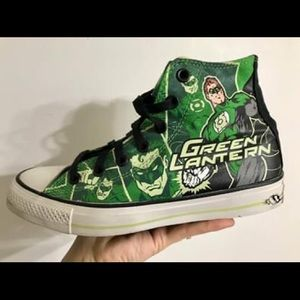 Converse All Star Marvel's Green Lantern sneakers
